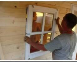 Как самостоятельно установить пластиковые окна на даче