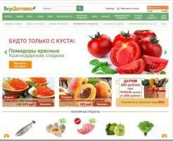 Обзор интернет магазина доставки продуктов на дом vkusdostavka.ru