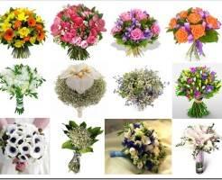 Как красиво сделать букет из живых цветов
