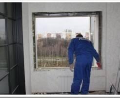 Как крепить раму пластикового окна