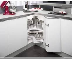 Система карусель для кухни: виды и установка