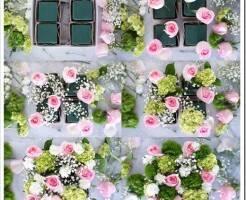 Как красиво собрать букет цветов в коробке