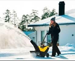 Как выбрать бензиновый снегоуборщик для дома