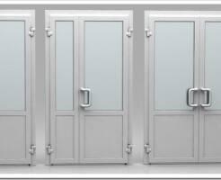 Алюминиевые двери: описание и преимущества