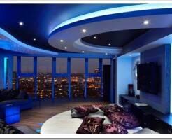 Применение светодиодной ленты 220В в интерьере квартиры