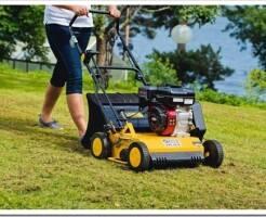 Как выбрать скарификатор для газона