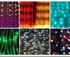 Какие есть виды светодиодных гирлянд и их применение