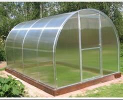 Как выбрать теплицу из поликарбоната - советы садоводов