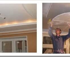 Что такое потолочный гипсокартон и чем отличается от стенового