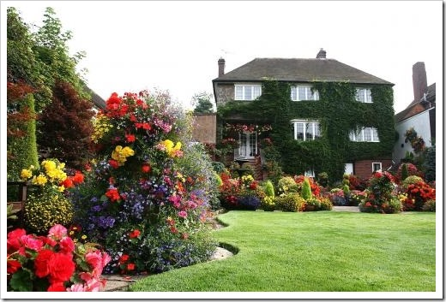 Характерные черты английского стиля сада