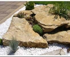 Типы камней для ландшафтного дизайна