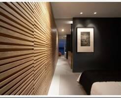 Как сделать декоративную стенку из деревянных реек