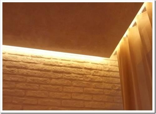 Как устанавить светодиодную ленту, чтобы она была незаметна?