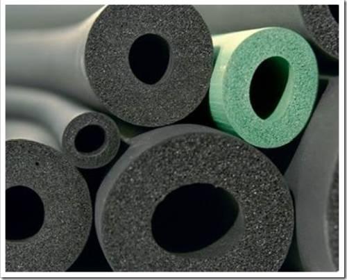 Особенности изоляции из вспененного каучука