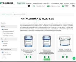 Обзор ассортимента антисептиков для дерева для наружных работ бренда Teknox