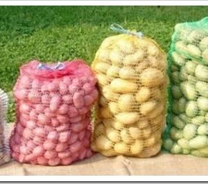 Какие есть виды сеток для упаковки овощей