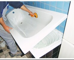 Что такое акриловый вкладыш в ванну и как его установить