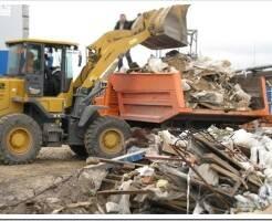 Как делается вывоз строительного мусора