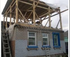 Как делается надстройка второго этажа дачного дома