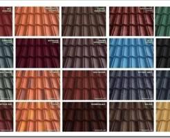 Какого цвета выбрать металлочерепицу для крыши и как выбрать качественную