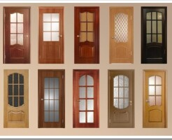 Какие есть виды межкомнатных дверей со стеклом