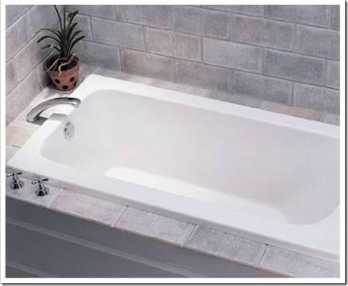 Вкладыш из акрила для старой ванны