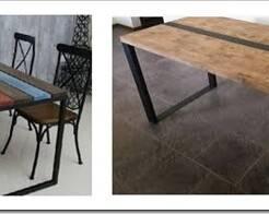 Виды столов в стиле лофт и особенности выбора
