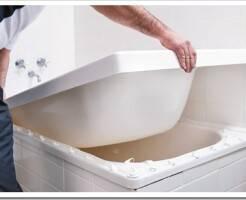 Что такое вкладыш из акрила для старой ванны
