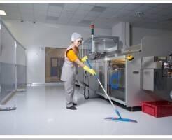 Как делается уборка промышленных и производственных помещений