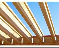 Деревянные двутавровые балки для перекрытий - что это, характеристики и монтаж