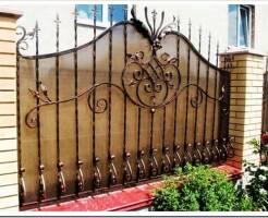 Как выбрать кованый забор для участка?