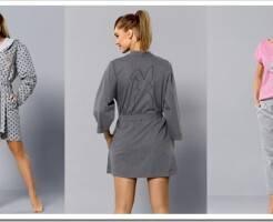 Виды женских трикотажных халатов и советы по выбору
