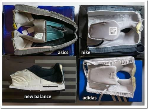 Материалы подошвы и дизайн кроссовок
