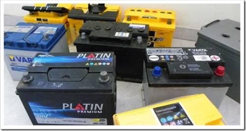 Разновидности аккумуляторов, используемых в автотранспорте